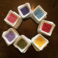Solid Colour Ganny Squares | MyCraftyMusings