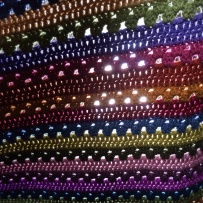 Cosy Stripe Blanket | MyCraftyMusings