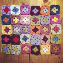 Mini Granny Squares | MyCraftyMusings