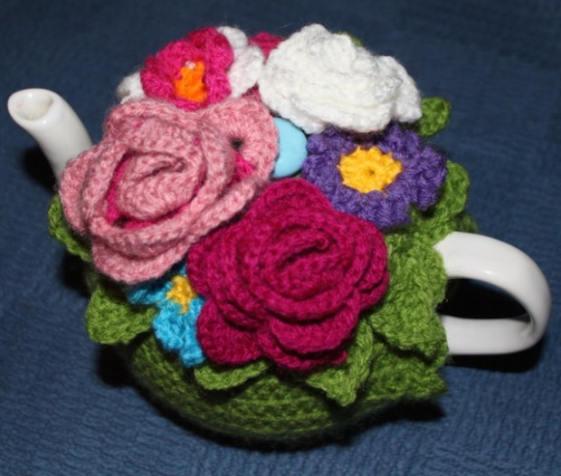 Flower Tea Cosy | MyCraftyMusings