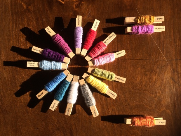 Picking Colours | MyCraftyMusings