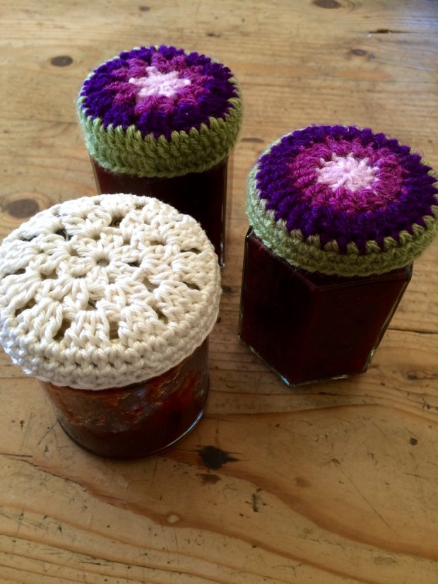 Crochet Jam Jar Lids | MyCraftyMusings
