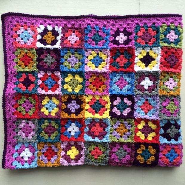 Granny Square Baby Blanket | MyCrochetMusings