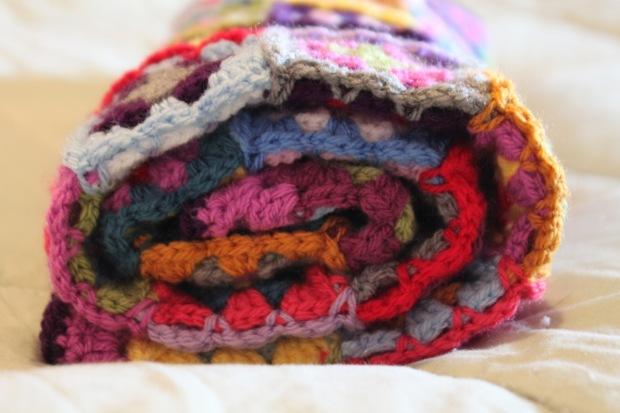 Granny Square Baby Blanket | MyCraftyMusings