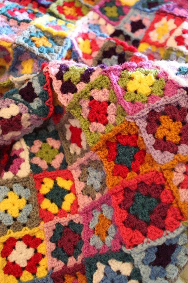 Granny Square Baby Blanket   MyCraftyMusings