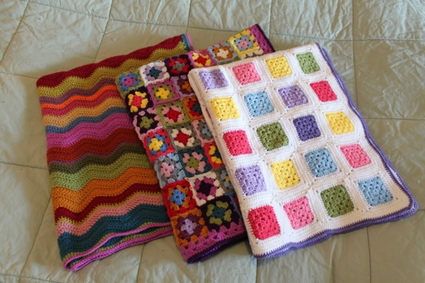 Finished Blankets | MyCraftyMusings
