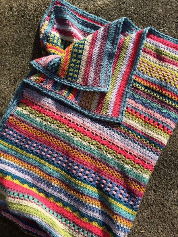 Spice of Life Blanket CAL