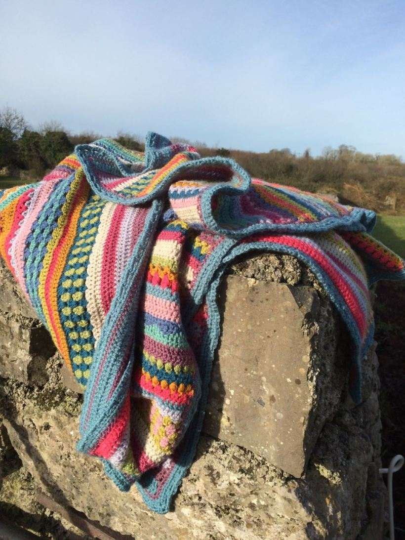 Spice of Life Blanket CAL Pictures | MyCraftyMusings