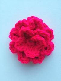 Open Rose (200 Crochet Flowers, Embellishments & Trims) | MyCraftyMusings