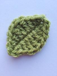 Leaf (200 Crochet Flowers, Embellishments & Trims) | MyCraftyMusings