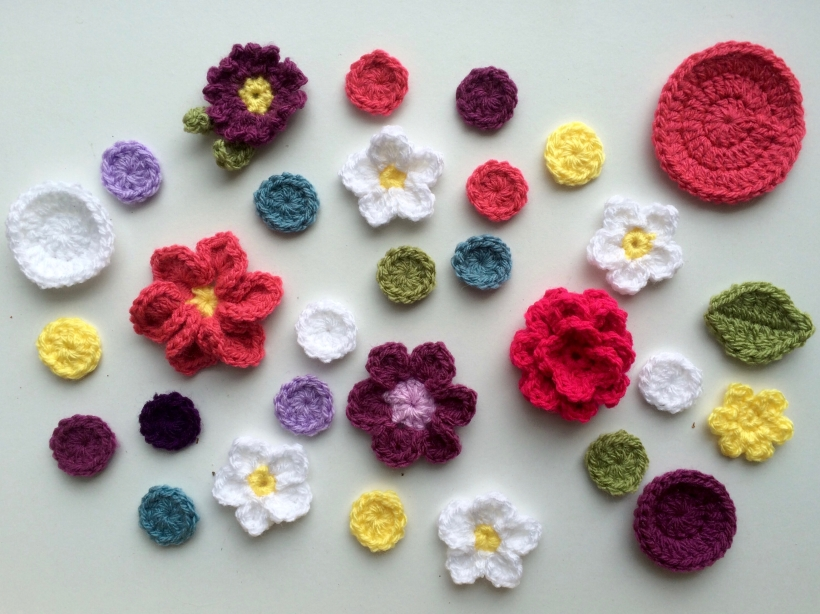 Crochet Applique | MyCraftyMusings
