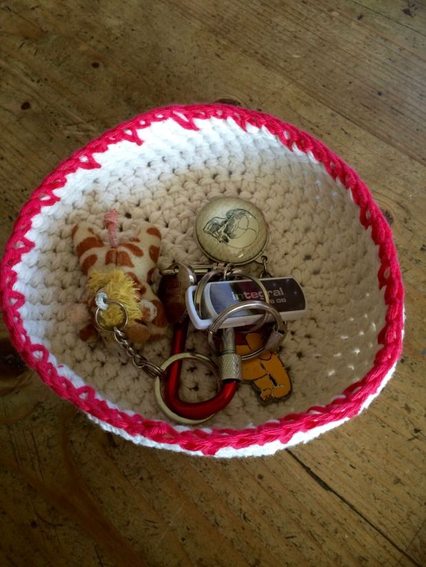 Crochet Basket | My Crafty Musings