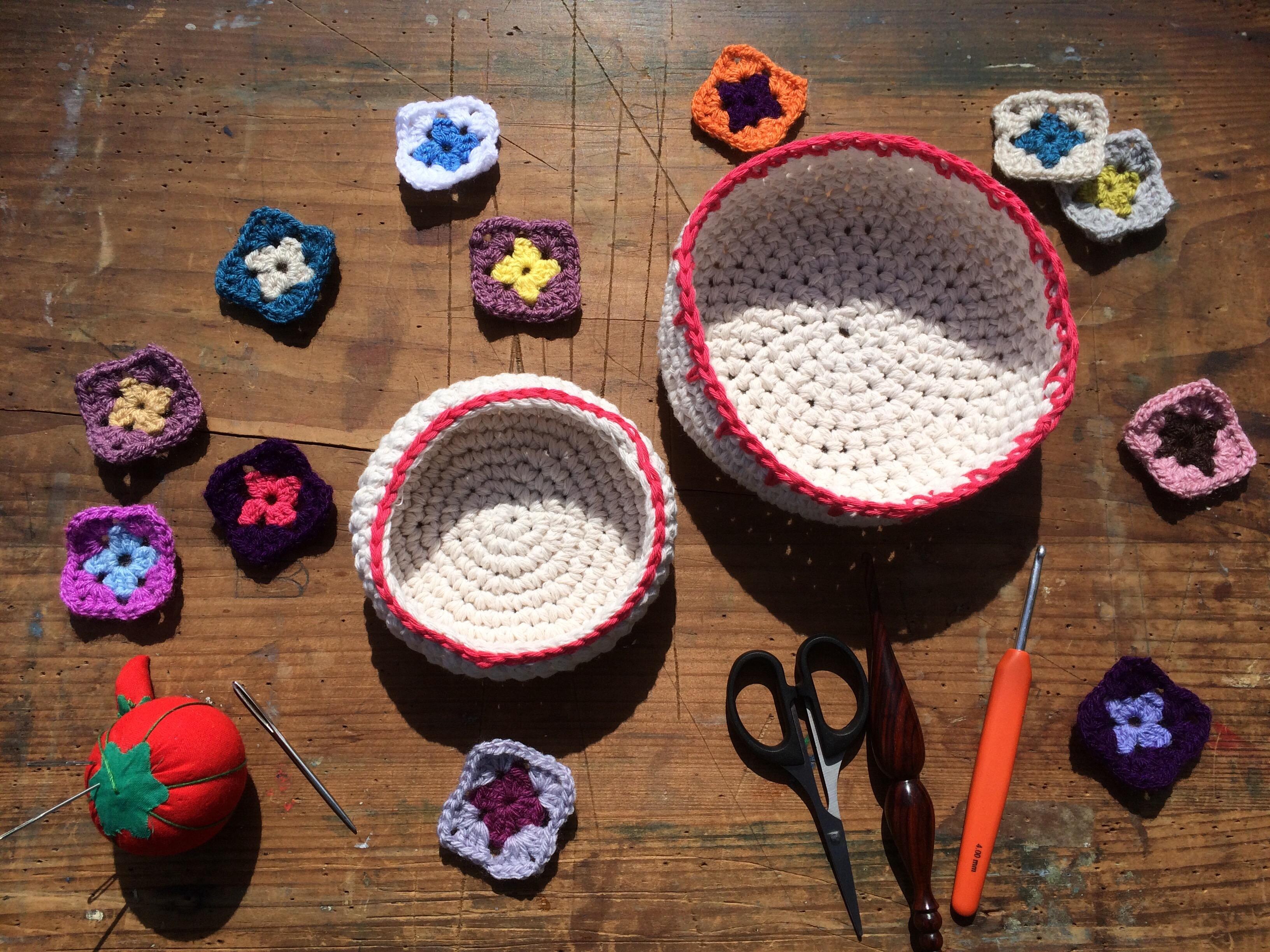 Crochet Baskets | MyCraftyMusings