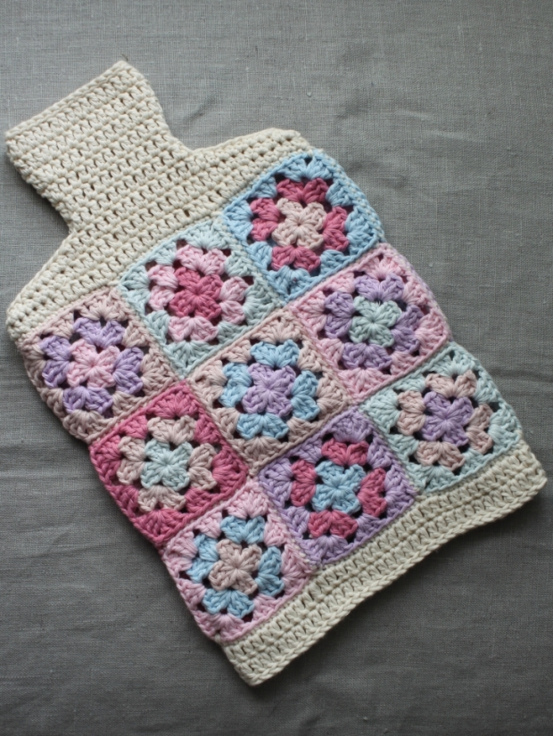 Hot Water Bottle Cover Baby | MyCraftyMusings