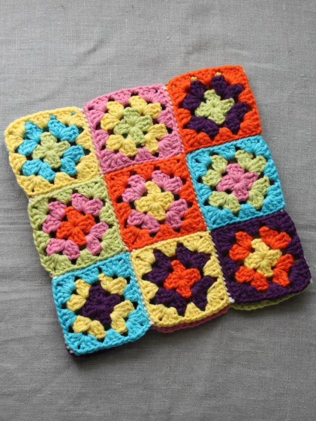 Unfinished Hot Water Bottle Cover Bright | MyCraftyMusings