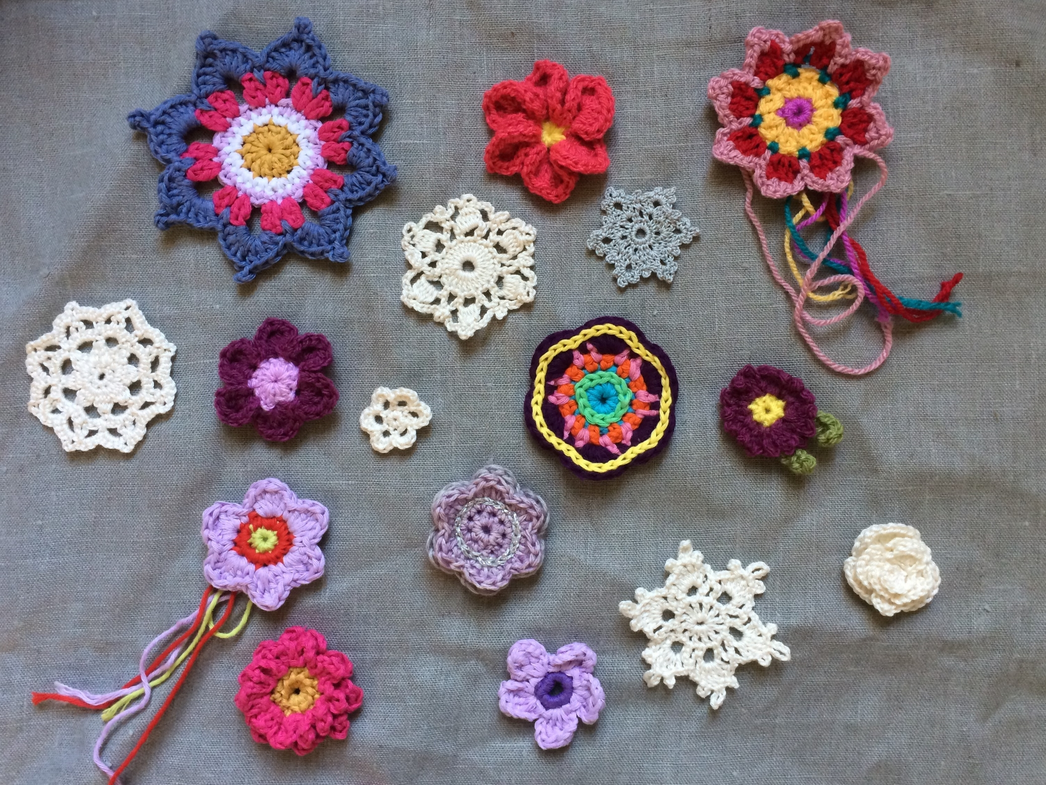 Crochet Flowers | MyCraftyMusings