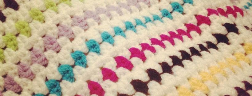 Diamond Stitch Crochet Blanket | MyCraftyMusings
