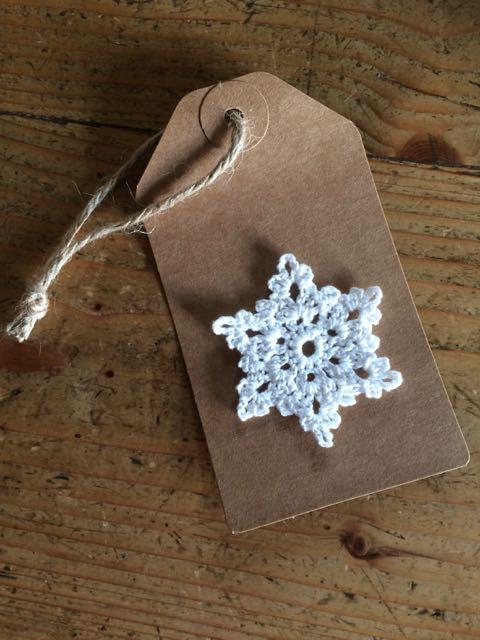 Crochet Snowflake | MyCraftyMusings