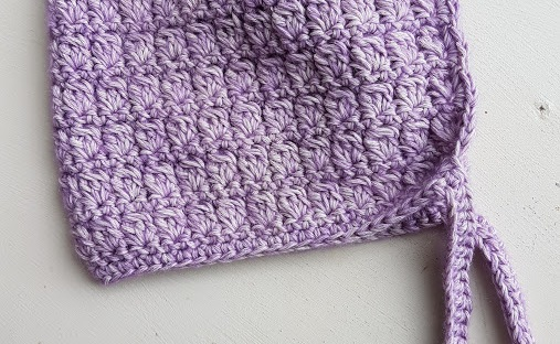 Child Size Purple Hood | MyCraftyMusings