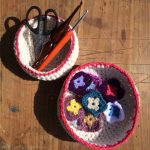 Crochet Baskets | MyCraftyMusings