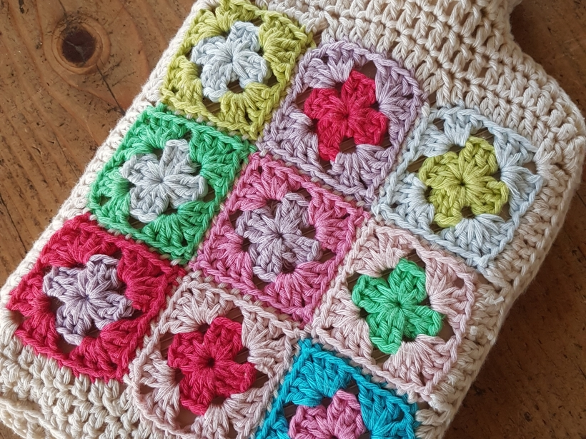 Crochet Hot Water Bottle Cover | My Crafty Musings