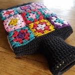Crochet Hot Water Bottle Cover | My Crafty Musings